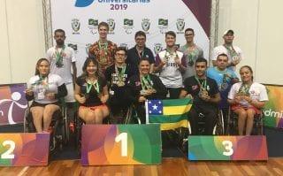 Paralimpiadas Universitárias encerram com festival de medalhas
