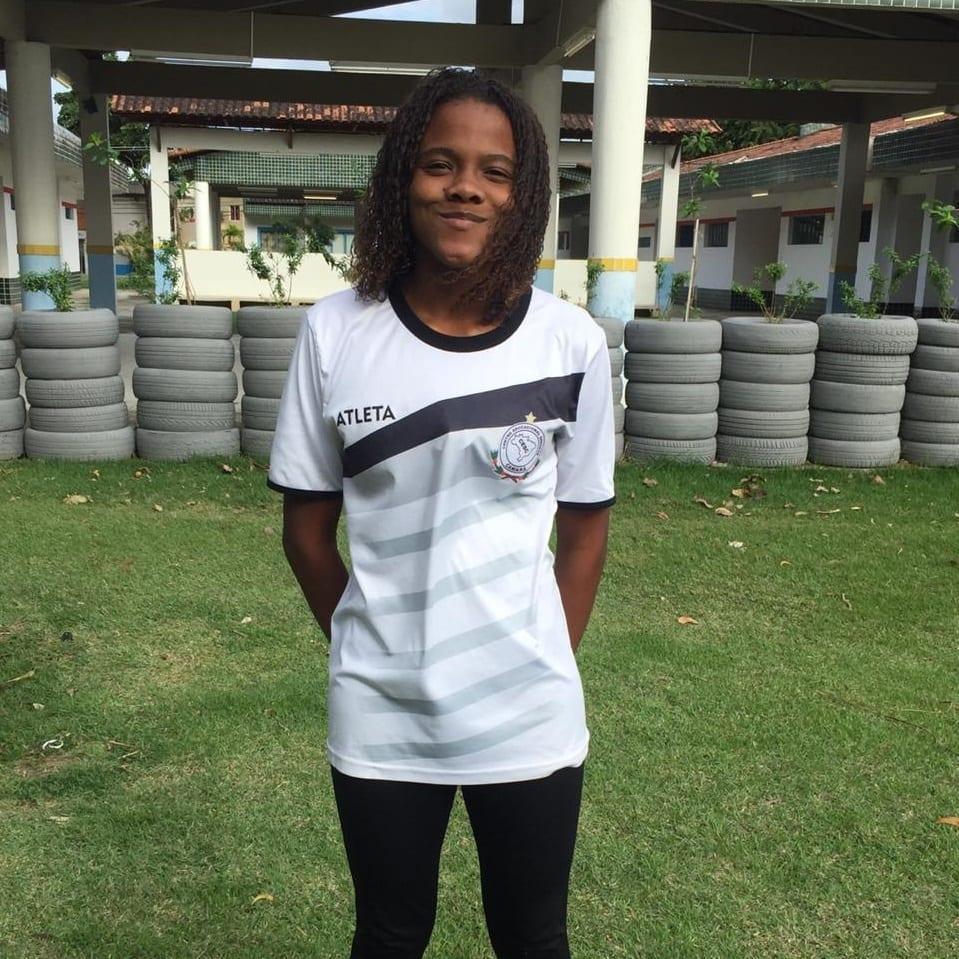 Atleta patrocinado Eduarda Pereira