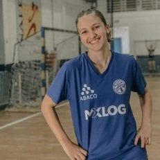 Atleta patrocinado Julia Domiciano
