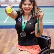 Atleta patrocinado Aline Cabral